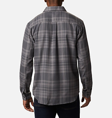 Men's Silver Ridge™ 2.0 Flannel Shirt - Big Silver Ridge™ 2.0 Flannel | 386 | 1X, Shark Flannel, back