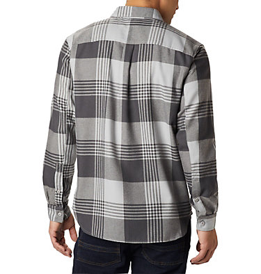 Men's Silver Ridge™ 2.0 Flannel Shirt - Big Silver Ridge™ 2.0 Flannel | 039 | 1X, Columbia Grey Buffalo Plaid, back