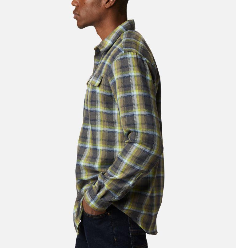 Silver Ridge™ 2.0 Flannel | 386 | 4X Men's Silver Ridge™ 2.0 Flannel Shirt - Big, Bright Chartreuse Ombre Plaid, a1
