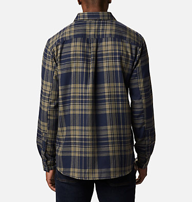 Men's Silver Ridge™ 2.0 Flannel Shirt - Big Silver Ridge™ 2.0 Flannel | 386 | 1X, Stone Green Flannel, back