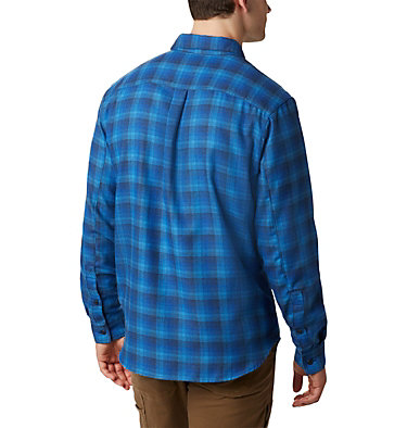 Men's Silver Ridge™ 2.0 Flannel Shirt - Big Silver Ridge™ 2.0 Flannel | 039 | 1X, Azure Plaid, back
