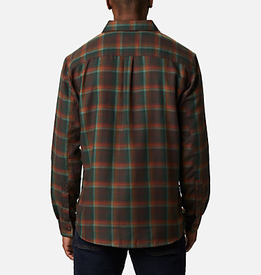 Men's Silver Ridge™ 2.0 Flannel Shirt - Big Silver Ridge™ 2.0 Flannel | 386 | 1X, Red Lodge Ombre Plaid, back