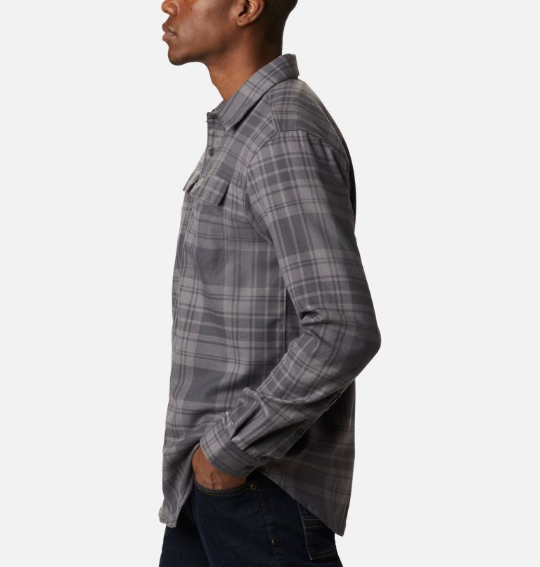 Silver Ridge™ 2.0 Flannel | 011 | 4XT Men's Silver Ridge™ 2.0 Flannel Shirt - Tall, Shark Flannel, a1