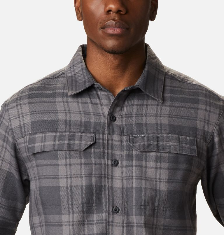 Silver Ridge™ 2.0 Flannel | 011 | 4XT Men's Silver Ridge™ 2.0 Flannel Shirt - Tall, Shark Flannel, a2