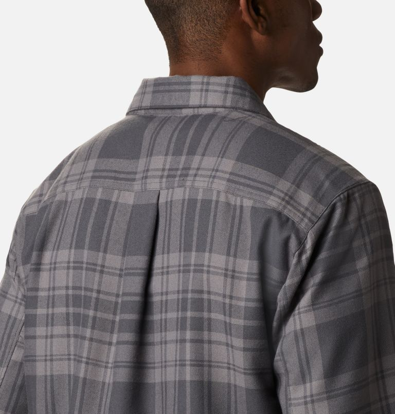 Silver Ridge™ 2.0 Flannel | 011 | 4XT Men's Silver Ridge™ 2.0 Flannel Shirt - Tall, Shark Flannel, a3