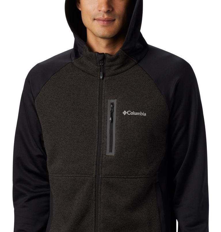 Men's Altitude Aspect™ Hooded Hybrid Fleece Men's Altitude Aspect™ Hooded Hybrid Fleece, a1