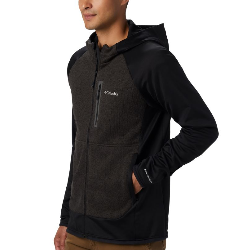 Men's Altitude Aspect™ Hooded Hybrid Fleece Men's Altitude Aspect™ Hooded Hybrid Fleece, a2