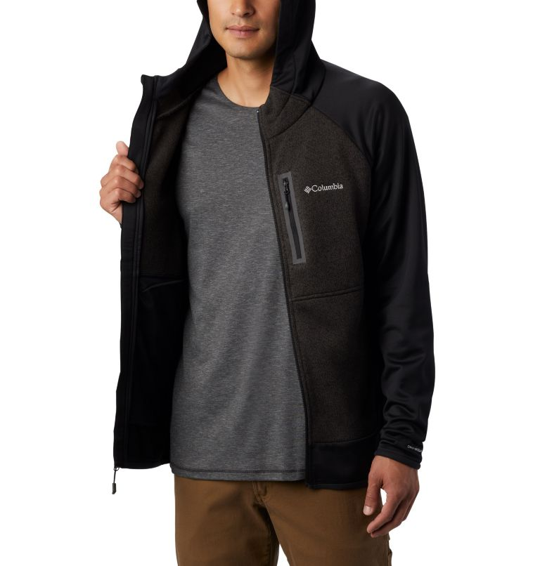 Men's Altitude Aspect™ Hooded Hybrid Fleece Men's Altitude Aspect™ Hooded Hybrid Fleece, a3