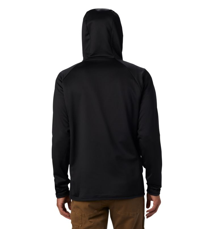 Men's Altitude Aspect™ Hooded Hybrid Fleece Men's Altitude Aspect™ Hooded Hybrid Fleece, back