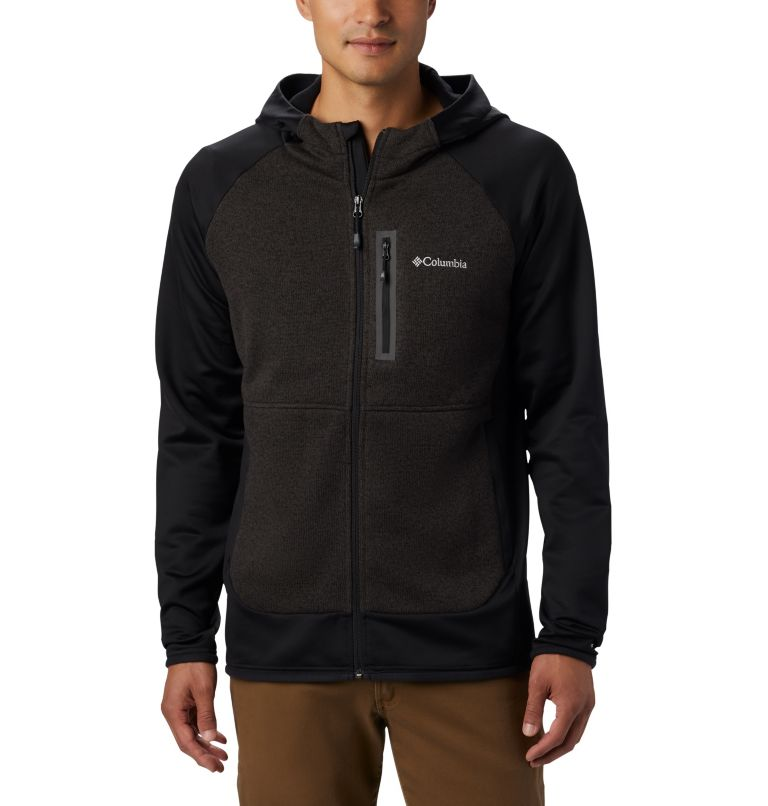 Men's Altitude Aspect™ Hooded Hybrid Fleece Men's Altitude Aspect™ Hooded Hybrid Fleece, front