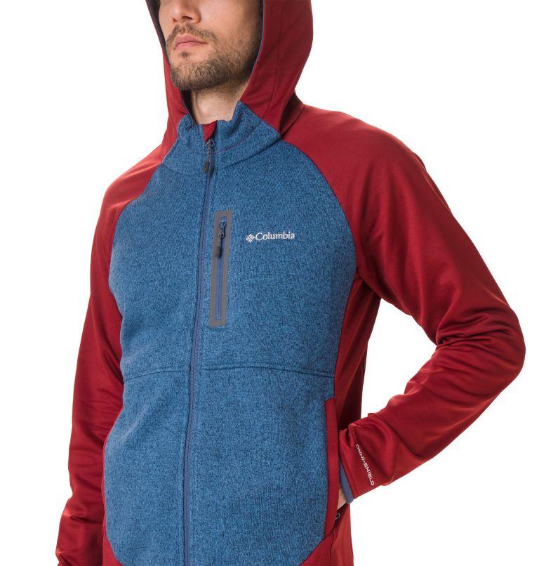 Altitude Aspect™ Hooded Hybrid | 664 | XL Veste Polaire Hybride À Capuche Altitude Aspect™ Homme, Red Jasper, Scout Blue, a1