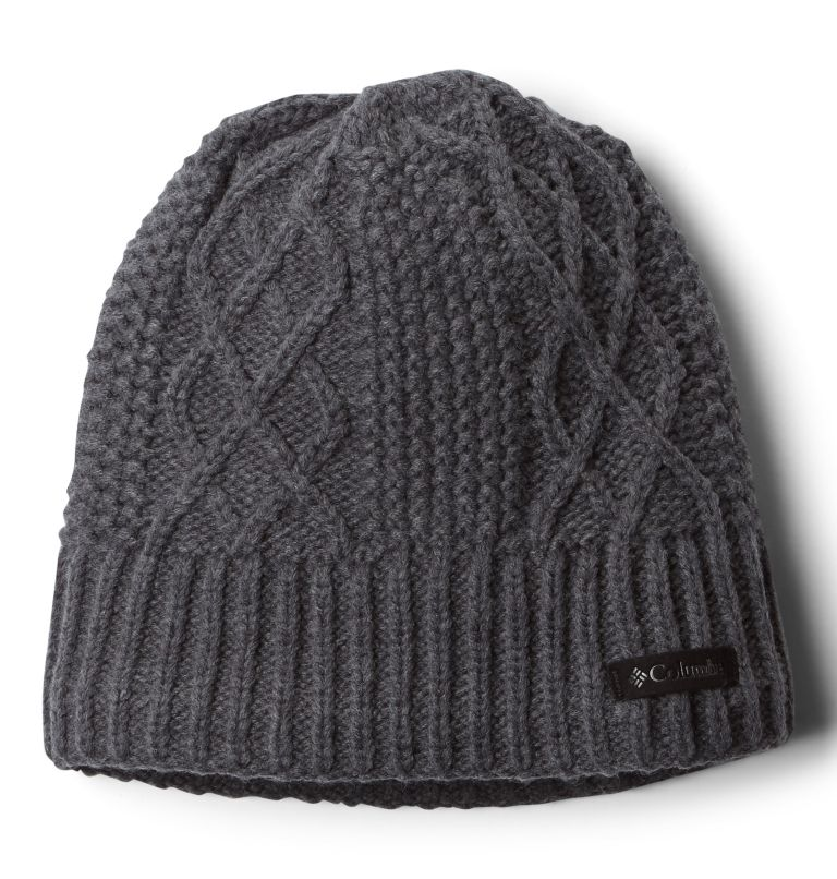 Cabled Cutie™ Beanie II | 030 | O/S Cabled Cutie™ Beanie II, Charcoal Heather, front