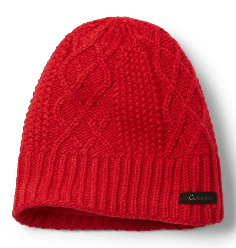 Cabled Cutie™ Beanie II | 658 | O/S Cabled Cutie™ Beanie II, Red Lily, front
