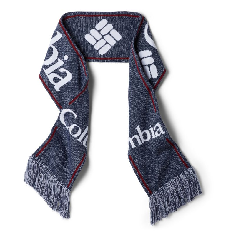 Columbia Lodge™ Scarf | 464 | O/S Columbia Lodge™ Scarf, Collegiate Navy, front