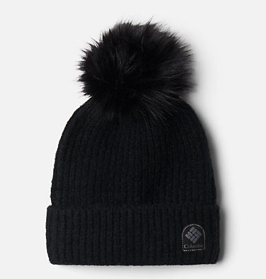 Tuque à pompon Winter Blur™ Winter Blur™ Pom Pom Beanie | 466 | O/S, Black, front