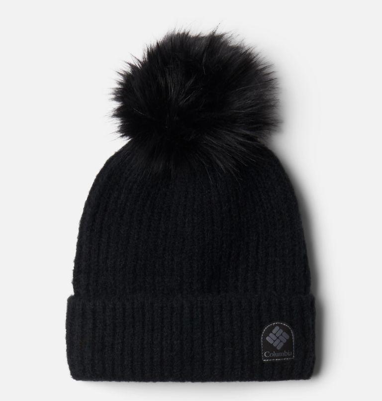 Winter Blur™ Pom Pom Beanie | 010 | O/S Winter Blur™ Pom Pom Beanie, Black, front