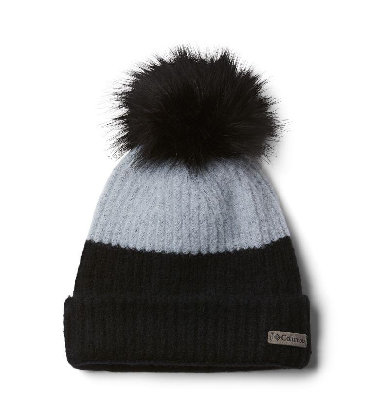 Winter Blur™ Pom Pom Beanie | 031 | O/S Winter Blur™ Pom Pom Beanie, Cirrus Grey, Black, front