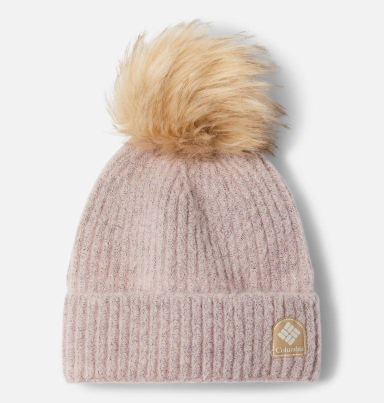 Winter Blur™ Pom Pom Beanie | 618 | O/S Winter Blur™ Pom Pom Beanie, Mineral Pink, front