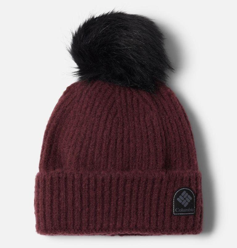 Winter Blur™ Pom Pom Beanie | 671 | O/S Winter Blur™ Pom Pom Beanie, Malbec, front