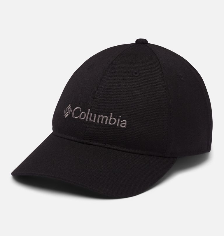 Columbia Lodge™ Adjustable Back Ball Cap | 010 | O/S Unisex Columbia Lodge Adjustable Back Ball Cap, Black, Embroidery, front