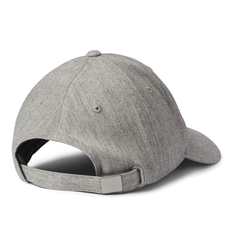 Columbia Lodge™ Adjustable Bac | 039 | O/S Columbia Lodge™ Adjustable Back Ball Cap, Columbia Grey Hthr, Columbia Mt. Patch, back