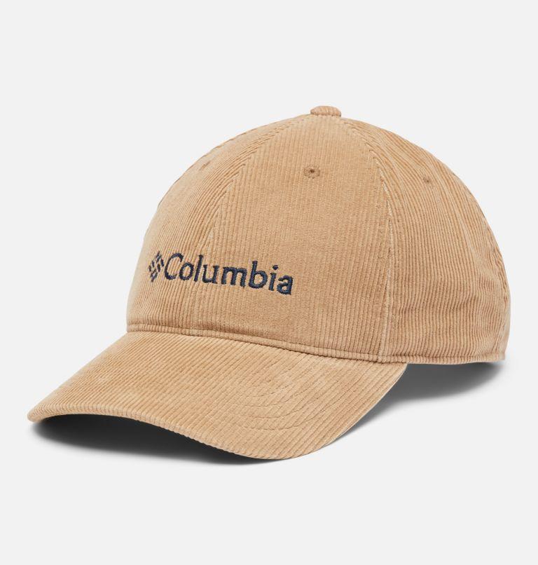 Columbia Lodge™ Adjustable Back Ball Cap   257   O/S Unisex Columbia Lodge Adjustable Back Ball Cap, Delta Corduroy, Gem Logo, front