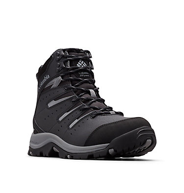 Men's Gunnison™ II Omni-Heat™ Boot - Wide GUNNISON™ II OMNI-HEAT™ WIDE | 231 | 10, Black, Ti Grey Steel, 3/4 front