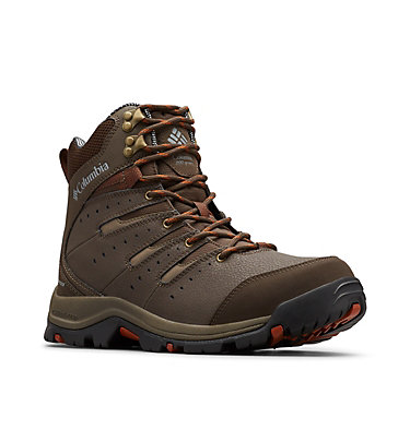 Men's Gunnison™ II Omni-Heat™ Boot - Wide GUNNISON™ II OMNI-HEAT™ WIDE | 231 | 10, Cordovan, Dark Adobe, 3/4 front