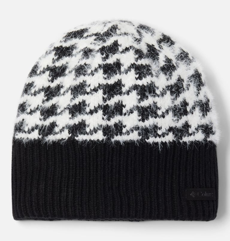 Permafrost Plush™ Beanie II | 011 | O/S Tuque Permafrost Plush™ II, Black Pattern, front