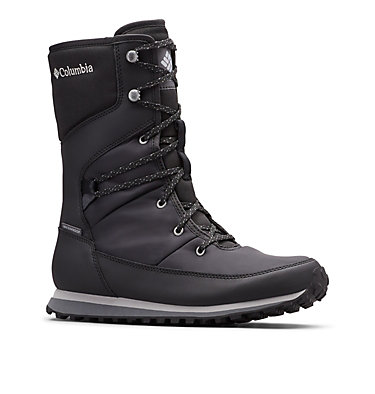 Wheatleigh™ Mid Winterstiefel für Damen WHEATLEIGH™ MID | 010 | 5, Black, Columbia Grey, 3/4 front