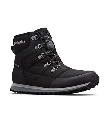 Women's Wheatleigh Shorty Boot WHEATLEIGH™ SHORTY | 010 | 12, Black, Columbia Grey, 3/4 front