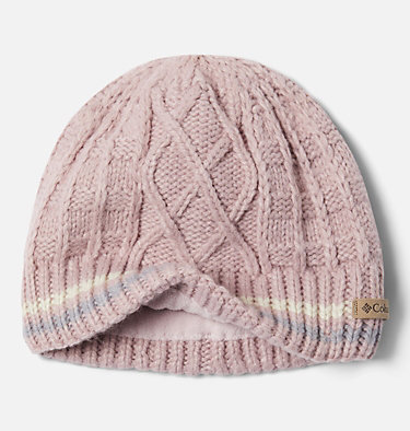 Kids' Cabled Cutie™ Beanie Cabled Cutie™ Youth Beanie | 618 | L/XL, Mineral Pink, Chalk, Columbia Grey, a1