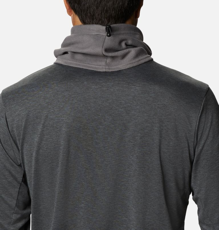 Trail Shaker™ Gaiter   023   O/S Trail Shaker™ Omni-Heat™ Fleece Gaiter, City Grey, back