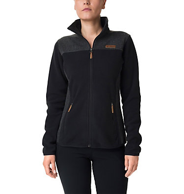 Fleece Panorama™ Full Zip Pieced da donna  , front