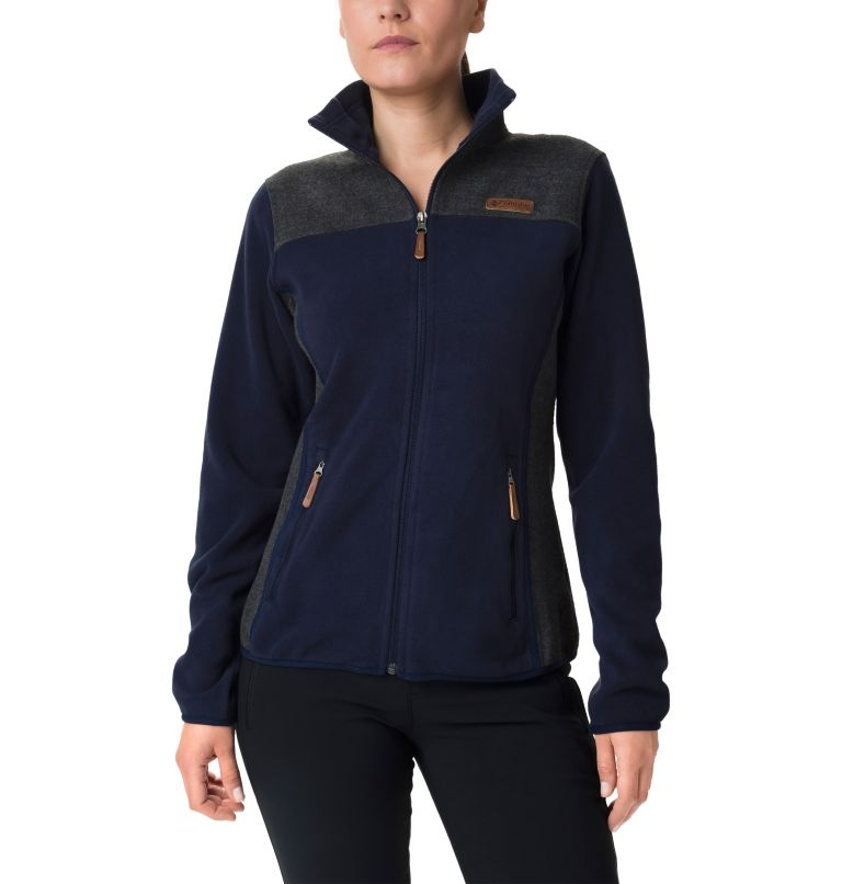 Women's Panorama™ Full Zip Pieced Fleece  Women's Panorama™ Full Zip Pieced Fleece , front