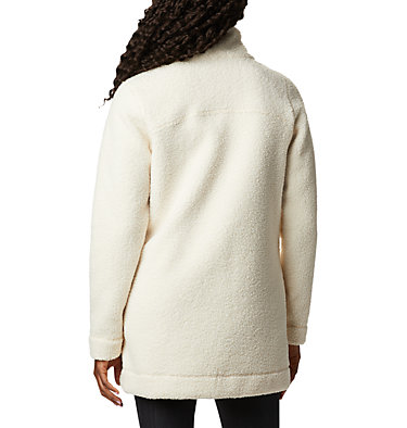 Women's Panorama Long Fleece Coat , back