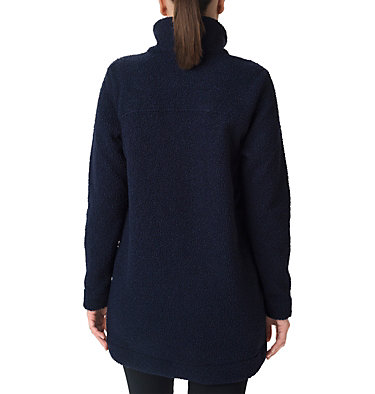 Women's Panorama Long Fleece Coat Panorama™ Long Jacket | 472 | S, Dark Nocturnal, back