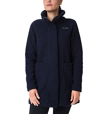 Panorama Mantel für Damen Panorama™ Long Jacket | 472 | XS, Dark Nocturnal, front