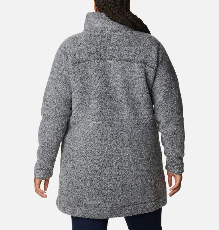 Women's Panorama Long Jacket - Plus Size Women's Panorama Long Jacket - Plus Size, back