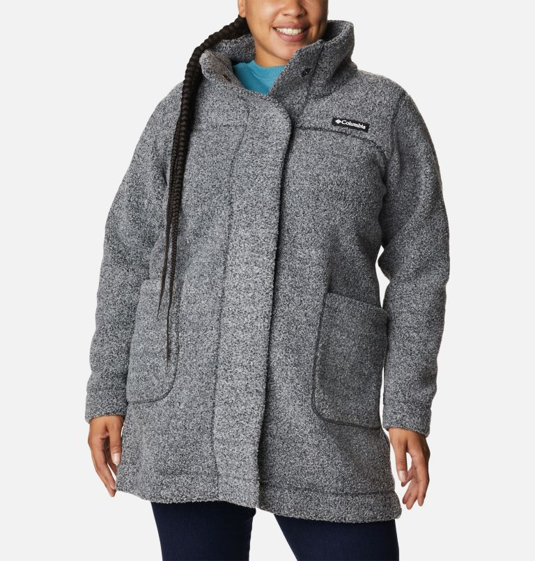 Women's Panorama Long Jacket - Plus Size Women's Panorama Long Jacket - Plus Size, front