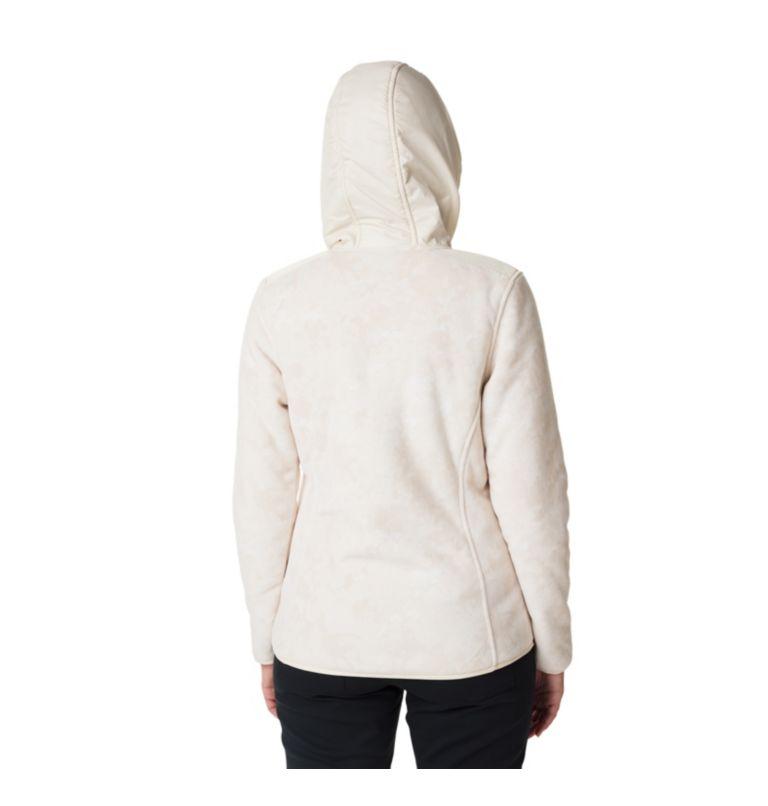 Women's Winter Pass Print Fleece Full Zip Jacket Women's Winter Pass Print Fleece Full Zip Jacket, back