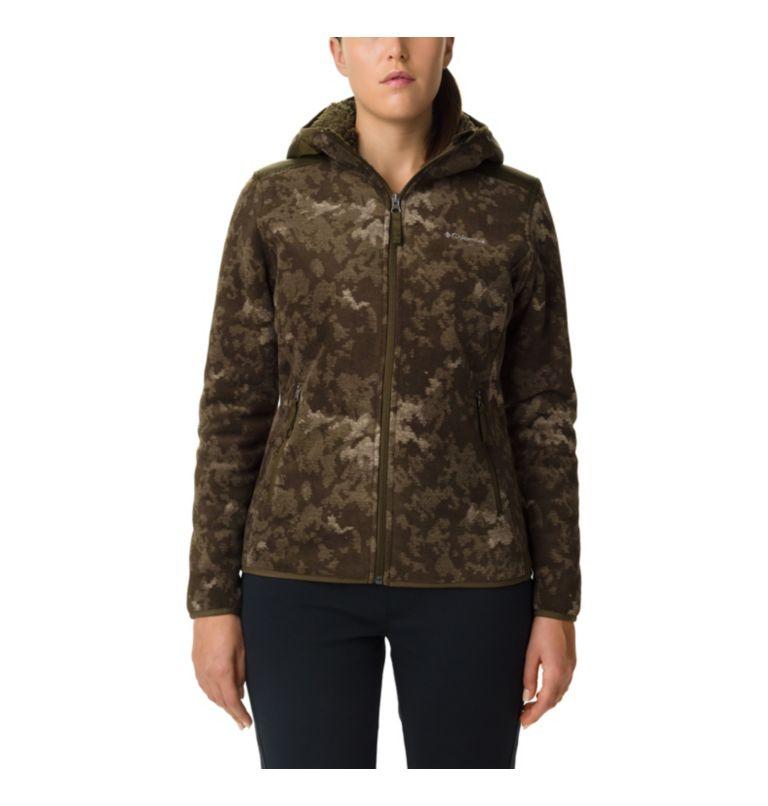Giacca Winter Pass Print Fleece Full Zip da donna Giacca Winter Pass Print Fleece Full Zip da donna, front