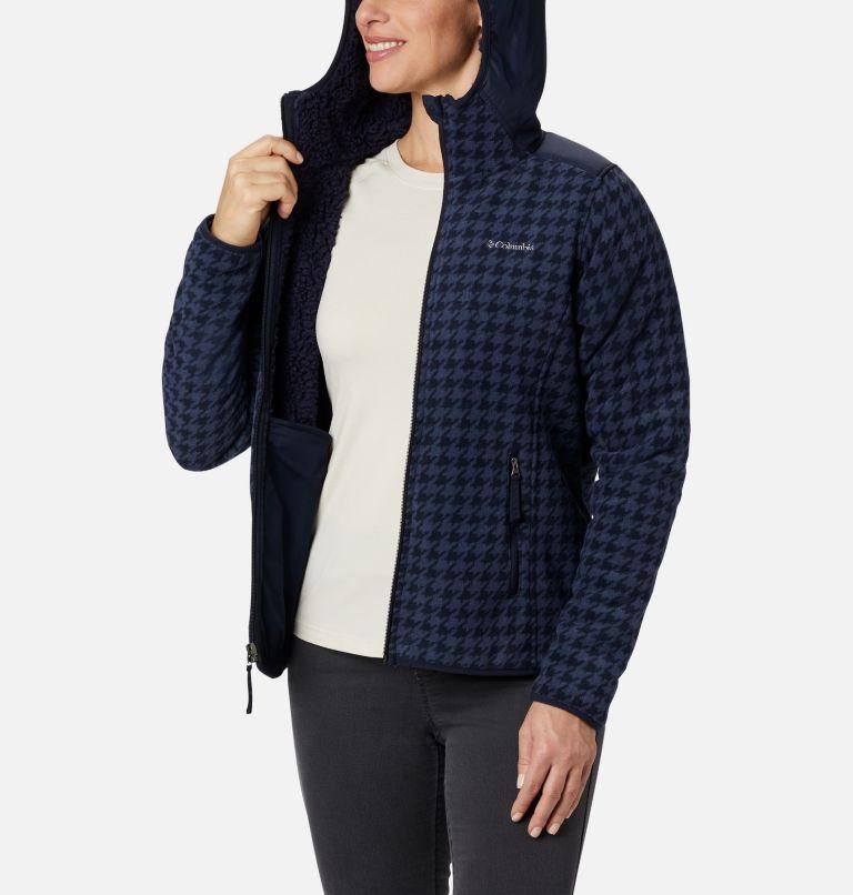 Women's Winter Pass Print Fleece Full Zip Jacket Women's Winter Pass Print Fleece Full Zip Jacket, a3