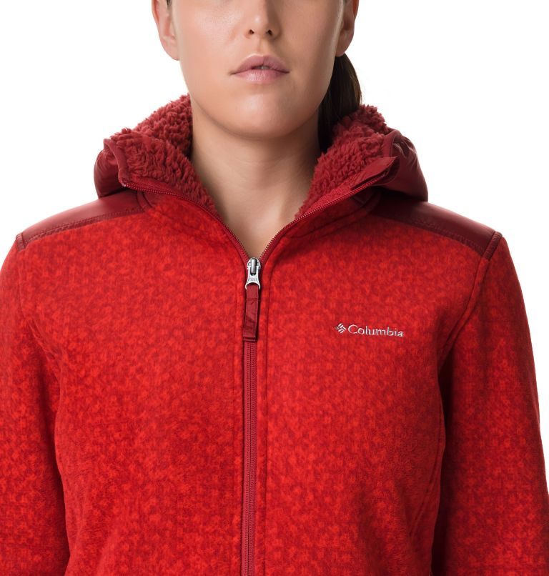 Giacca Winter Pass Print Fleece Full Zip da donna Giacca Winter Pass Print Fleece Full Zip da donna, a2