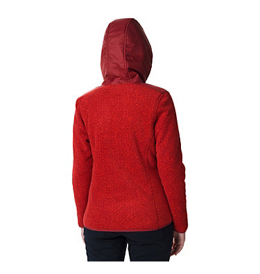Women's Winter Pass Print Fleece Full Zip Jacket Winter Pass™ Print Fleece Full | 472 | S, Beet Dot Print, Beet, back