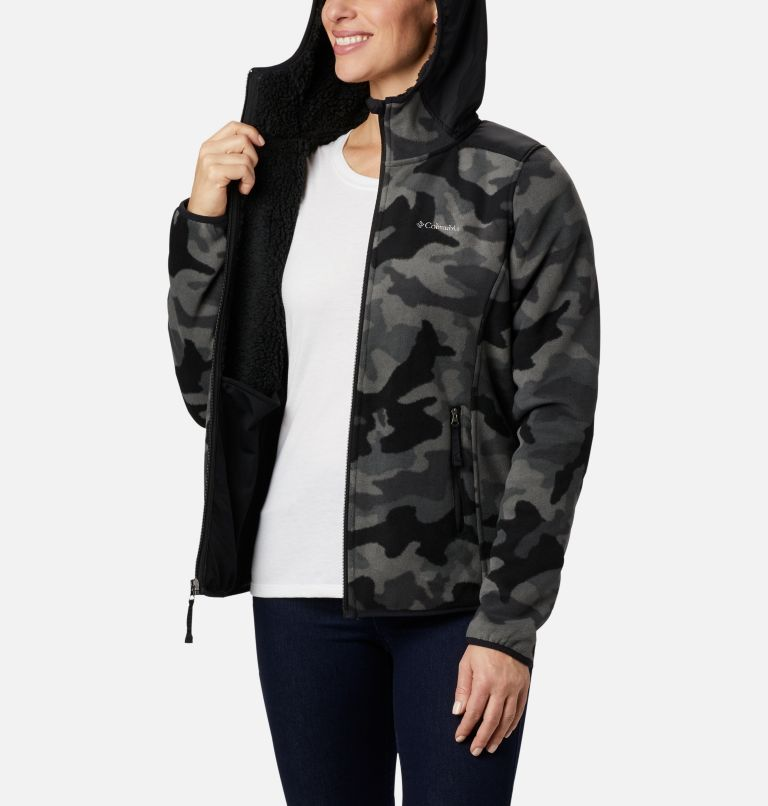 Women's Winter Pass™ Print Fleece Full Zip Jacket Women's Winter Pass™ Print Fleece Full Zip Jacket, a3