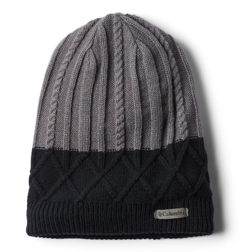 Carson Pass™ Beanie II | 023 | O/S Bonnet Carson Pass™ II Unisexe, City Grey, Black, front