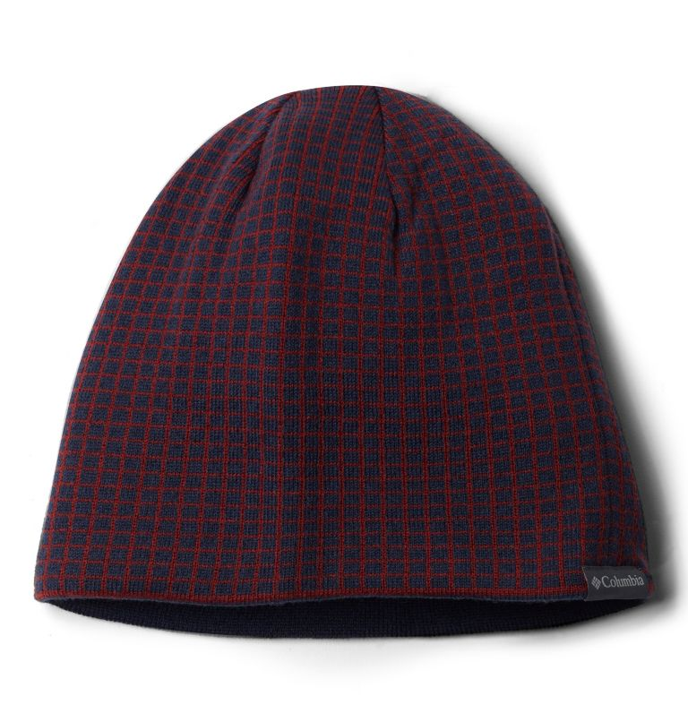 Urbanization Mix™ Beanie II | 464 | O/S Bonnet Urbanization Mix II Unisexe, Collegiate Navy Grid, front