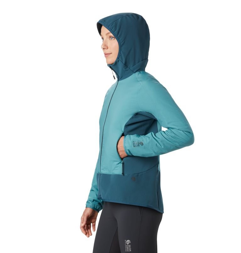 Kor Strata™ Climb Hoody | 447 | M Women's Kor Strata™ Climb Hoody, Washed Turq, a1