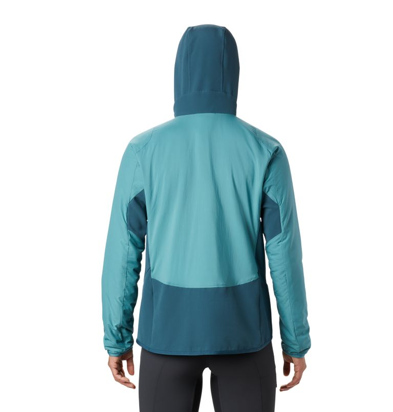 Kor Strata™ Climb Hoody | 447 | M Women's Kor Strata™ Climb Hoody, Washed Turq, back